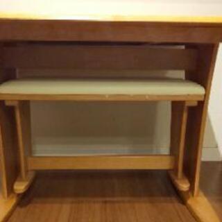 ◆受け渡し済◆伸長式ダイニングテーブル 貰ってください - 家具