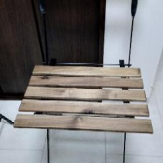 ニトリ(テルノー)ガーデンテーブル、チェアセット