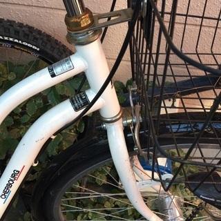 自転車 白 - 自転車