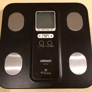 オムロン 体重体組成計 HBF-202 体重計 体脂肪計