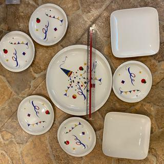 可愛いお皿の画像