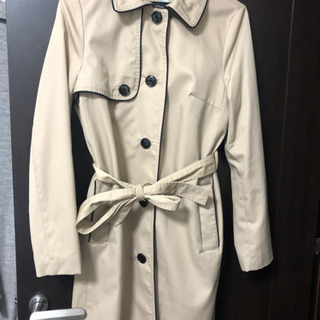 H&M くすみカラー コート