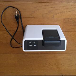 シャープ2015年製  EC-SX210 。充電器。ご希望でした...