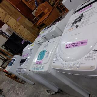 洗濯機 各メーカー 容量 沢山あります!