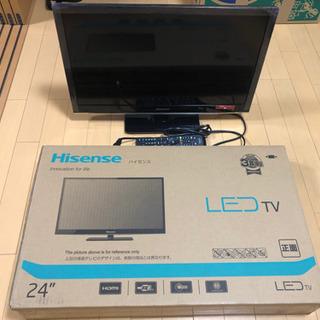 【新品】Hisense 24インチ 液晶テレビ