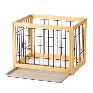 美品☆カインズホーム 組み立て簡単 木製サークルS C19 木製...