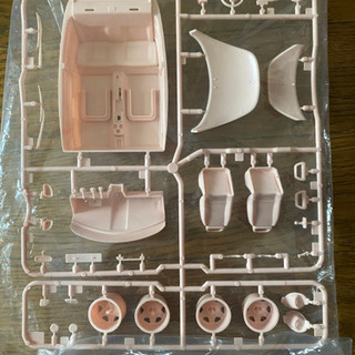 タミヤ VW ビートル パーツ ボディ、内装部品の画像