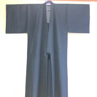 《新品未使用》紳士用着物 羽織 ウールアンサンブル 175cm