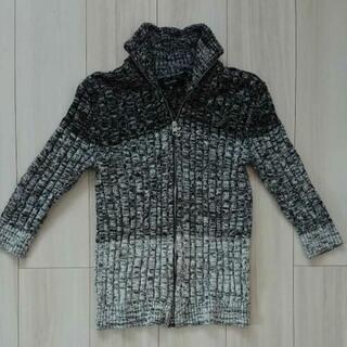 メンズ七分袖セーター