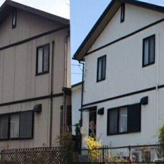無料見積もり!外壁塗装致します。お家のお色直し、汚れた壁の塗り直...