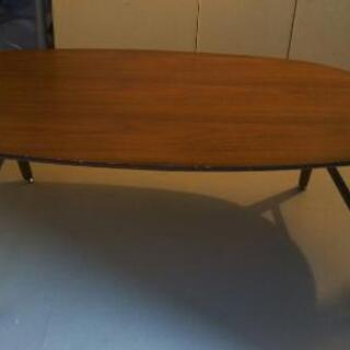 リビングテーブル 折り畳み式