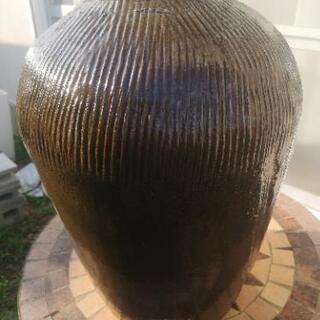大きな壺 中古 - 生活雑貨