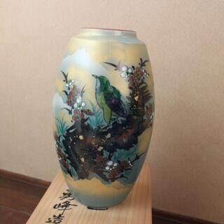 九谷焼(勇峰作) 花瓶