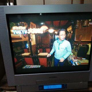 東芝 21型ブラウン管テレビデオ