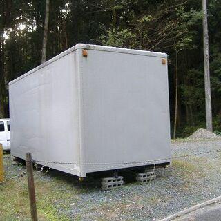 倉庫用コンテナ 4トントラック用荷台