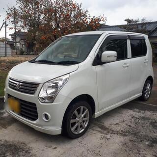 SUZUKI ワゴンR 白 低走行 車検付き 25年式