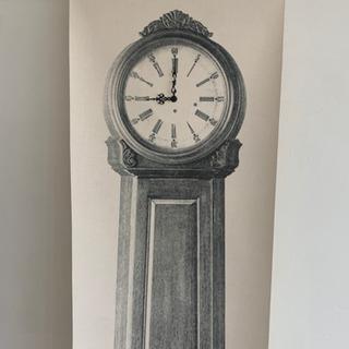 アンティーク壁掛け時計