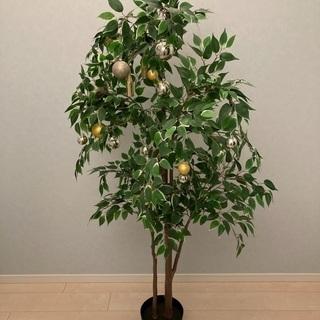 人工観葉植物 (IKEA FEJKA フェイカ) クリスマスツリー