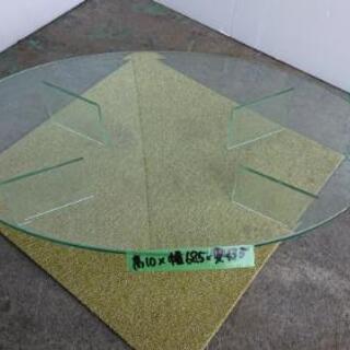 ☆円形ガラステーブル(小)
