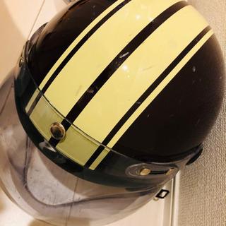 ジェットヘルメット、ハーフメット 傷ありの画像