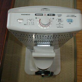 コロナ 遠赤外線電気ストーブ DH-1112R 訳あり商品 - 家電