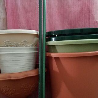 ■園芸鉢カバー13点セット■10号アイリスベジタブルポットフラワ...