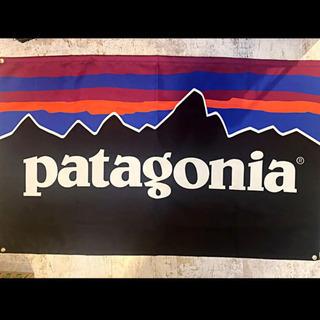 パタゴニア バナー  フラッグ インテリア