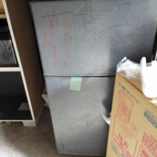 冷蔵庫あげます(ジャンク扱い)