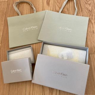 《引取り限定》Calvin Klein 空箱&袋セット