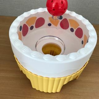 こどもちゃれんじのおもちゃ くるくるバースデーケーキ