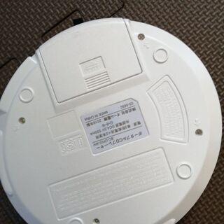 交渉中 オーム電機 OHM ELECTRIC ポータブルCDプレーヤー ホワイト BC-CP03-WHの画像