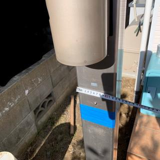 機能門柱 防雨照明付き ポスト、インターホン取付可能 - 福岡市