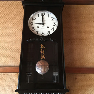 柱時計 ねじ式 (レトロ)