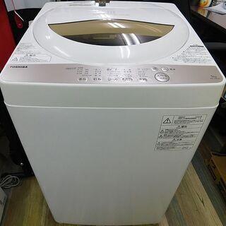 美品 TOSHIBA 東芝 5.0㎏ 洗濯機 AW-5G8…