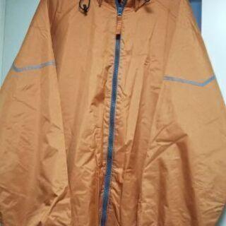 防水フード取外し可能メンズジャンパー(EL)カラー/オレンジ