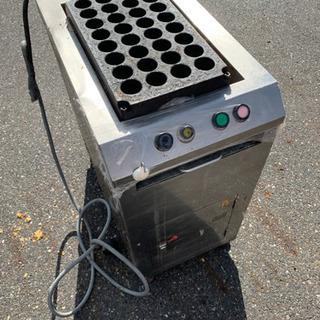 [最終価格]電気たこ焼き機[ジャンク]自動回転式/32穴/業務用...