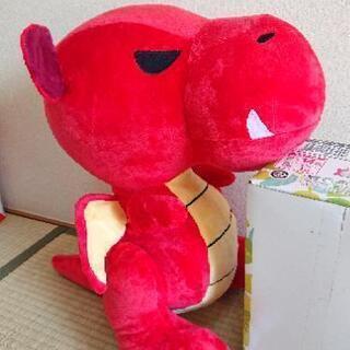 ファンタジードラゴン BIG ぬいぐるみ 赤