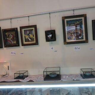 堺市の珍しい手工芸教室(七宝・銀粘土・レジン・彫金彫刻・ベネチア...