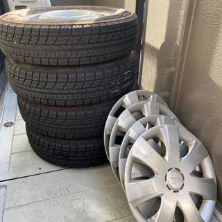 取引者決定✿軽自動車 スタッドレスタイヤ 4本 の画像