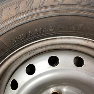 取引者決定✿軽自動車 スタッドレスタイヤ 4本  - 車のパーツ