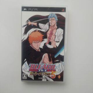 BLEACH ヒート・ザ・ソウル5(PSPソフト)