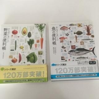 魚と野菜の本です