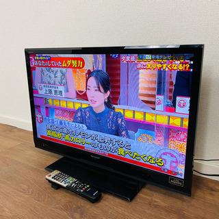 ☆送料無料☆美品☆SHARP AQUOS32型液晶テレビ …