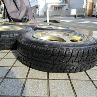 冬の備えに! マルチアルミホイール+スタッドレスタイヤ! 4本セットで! - 京都市