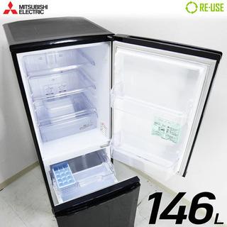 三菱冷蔵庫 MR-P15x-b 中古の画像