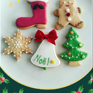 クリスマスクッキーレッスン