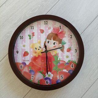ペコちゃん時計