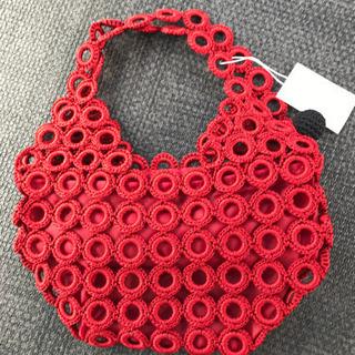 新品 手編みバッグ