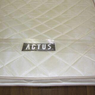 R069 高級 ACTUS シングルベッド、マットレスセット 良品 - 家具