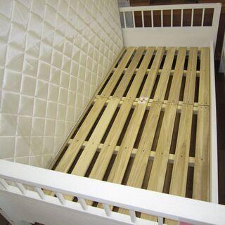 R069 高級 ACTUS シングルベッド、マットレスセット 良品 - 売ります・あげます